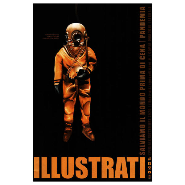 Cover of Illustrati magazine of september 2020