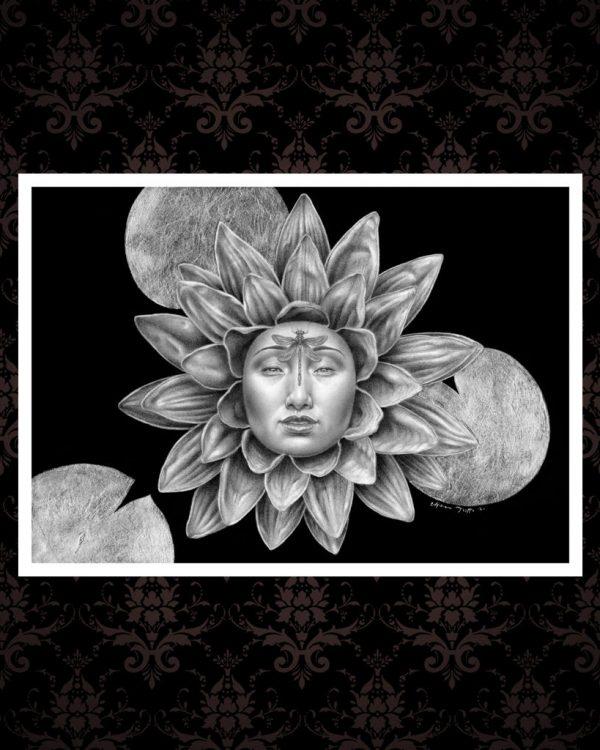 Lotus Rebirth fine art print cover